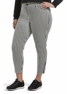 HUE Women's Ultra Soft Denim Jean Capri Leggings