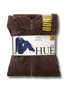 Hue Women's Hoodie and Jogger 2pc Velour Loungewear Set