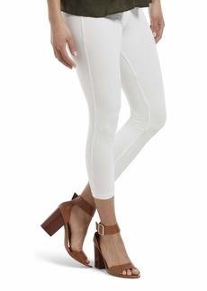 HUE Women's Wide Waistband Blackout Cotton Capri Leggings Assorted  XL