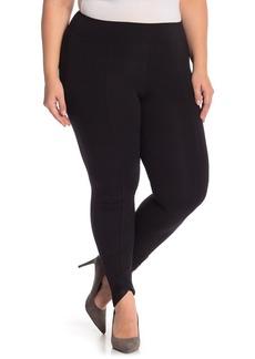 Hue Mesh Trim Leggings (Plus Size)