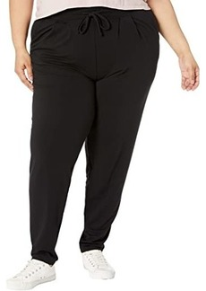 """Hue Plus Size """"Wearever U R"""" The Curbside Relaxed Fit Joggers"""