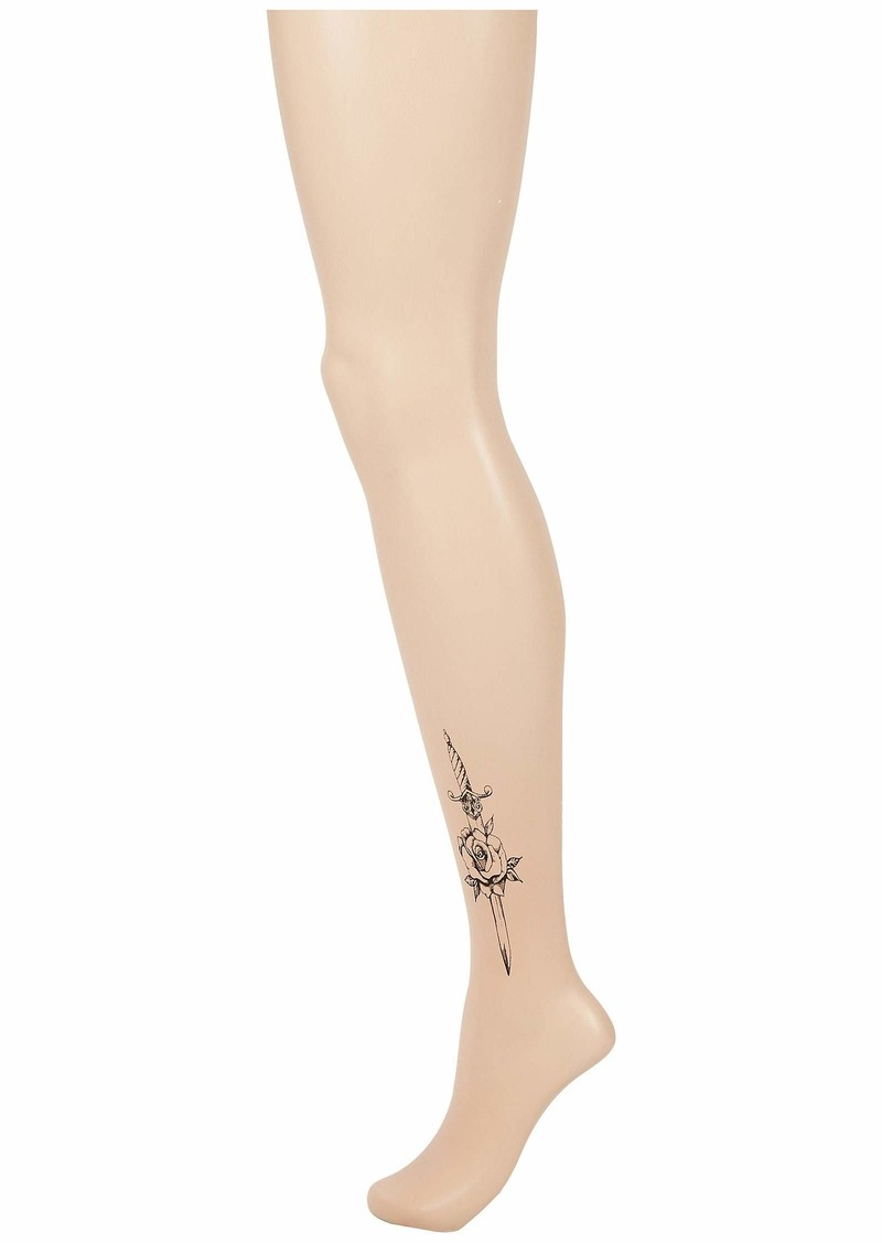 Hue Rose Tattoo Tights
