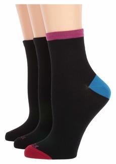 Hue Super Soft Cropped Socks 3-Pair Pack