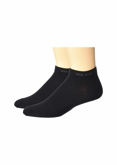 Hugo Boss 2-Pack Ankle Socks with Reinforced Heels