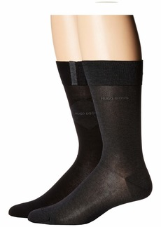 Hugo Boss 2-Pack Argyle Dress Socks