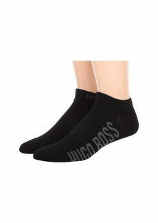 Hugo Boss 2-Pack Athletic Logo Combed Cotton Socks