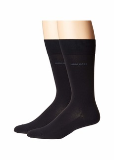 Hugo Boss 2-Pack Mercerized Egyptian Cotton Socks