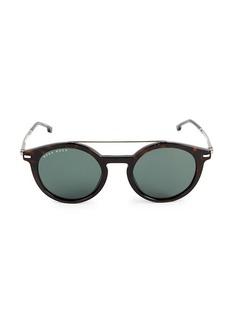 Hugo Boss 49MM Round Sunglasses