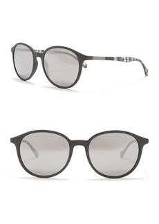 Hugo Boss 53mm Round Sunglasses