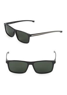 Hugo Boss 54MM Rectangle Sunglasses