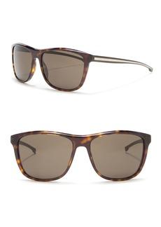 Hugo Boss 57mm Square Sunglasses