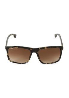 Hugo Boss 58MM Square Sunglasses
