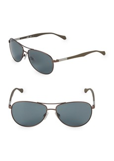 Hugo Boss 60MM Aviator Sunglasses