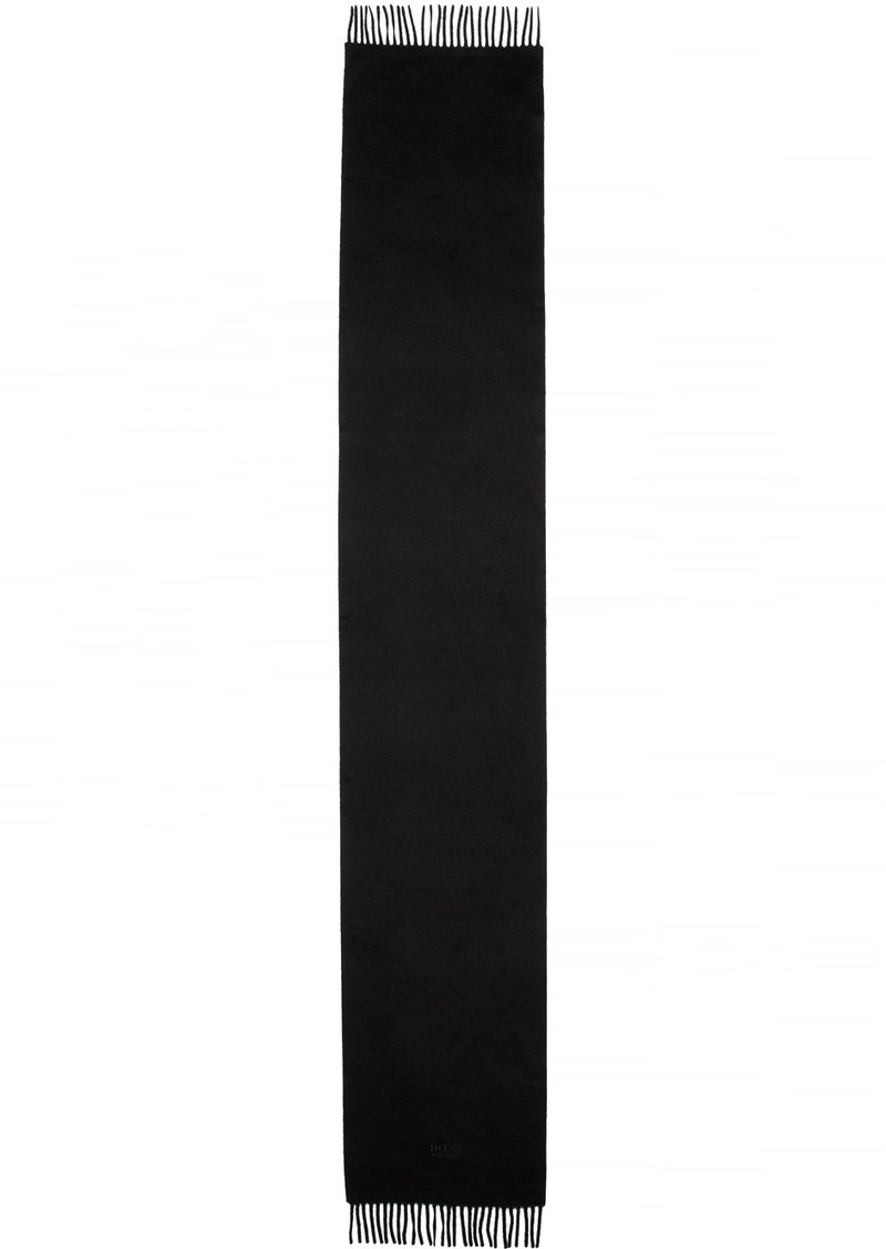 Hugo Boss Black Cashmere T-Scottas 02 Scarf