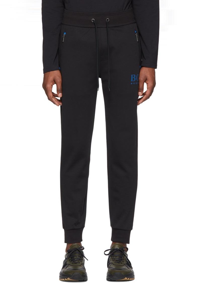Hugo Boss Black Cotton Track Pants