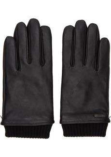 Hugo Boss Black Leather Hewen-TT Gloves