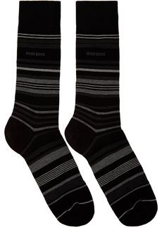 Hugo Boss Black Multi Stripe Socks