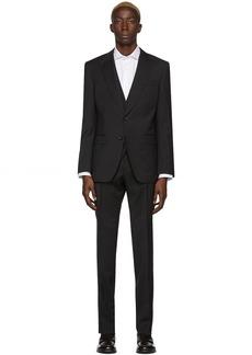 Hugo Boss Black Three-Piece Pinstripe Helward5 & Genius5 Suit