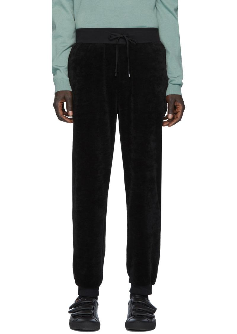 Hugo Boss Black Velour Lounge Pants