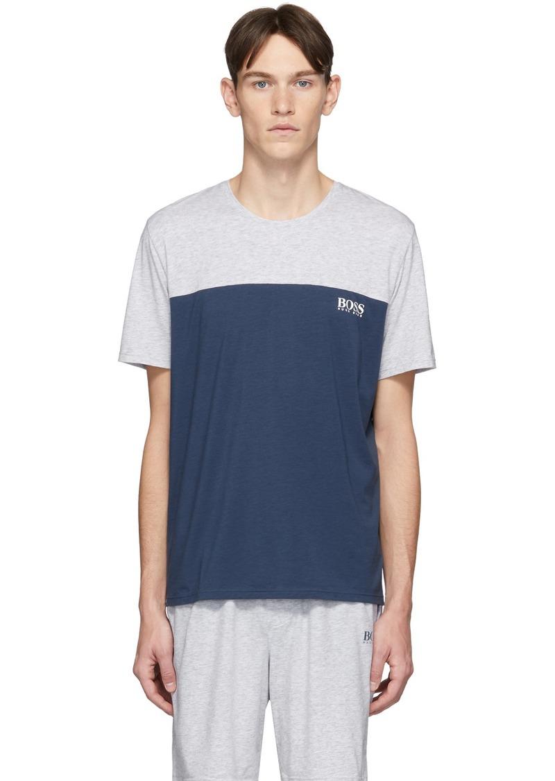 Hugo Boss Blue & Grey Balance T-Shirt