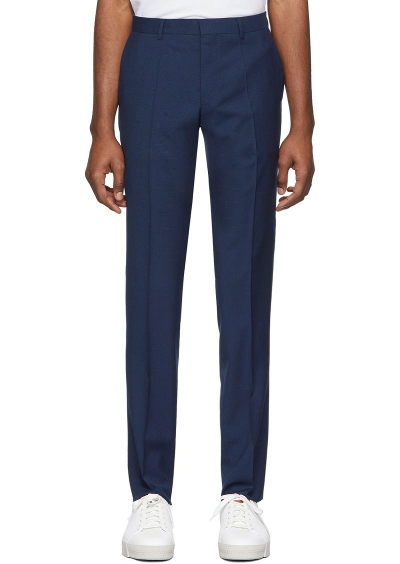 Hugo Boss Blue Genius Slim-Fit Trousers