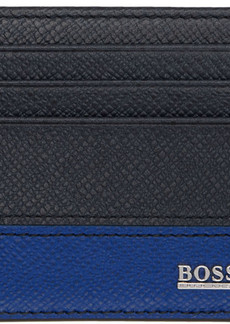 Hugo Boss Blue Two Sided Card Holder