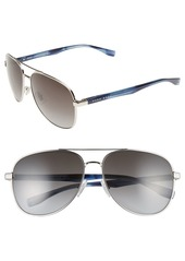 Hugo Boss BOSS '0700/S' 60mm Aviator Sunglasses