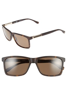 Hugo Boss BOSS '0704PS' 57mm Polarized Sunglasses