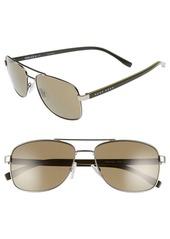 Hugo Boss BOSS '0762/S' 58mm Polarized Navigator Sunglasses