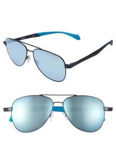 Hugo Boss BOSS 1077/S 60mm Aviator Sunglasses