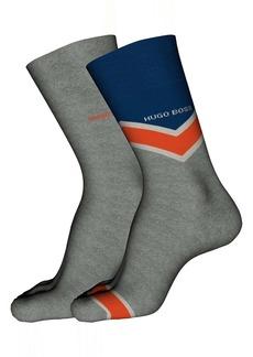 Hugo Boss BOSS 2-Pack Assorted Socks
