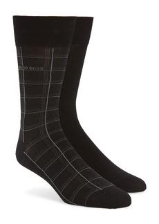 Hugo Boss BOSS 2-Pack Crew Socks