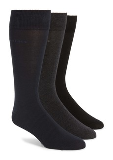 Hugo Boss BOSS 3-Pack Solid Socks