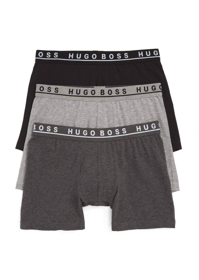 Hugo Boss BOSS 3-Pack Stretch Cotton Boxer Briefs