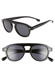 Hugo Boss BOSS 49mm Polarized Sunglasses