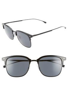 Hugo Boss BOSS 53mm Special Fit Semi Rimless Sunglasses