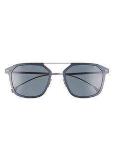 Hugo Boss BOSS 55mm Polarized Square Sunglasses