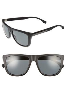 Hugo Boss BOSS 56mm Polarized Sunglasses