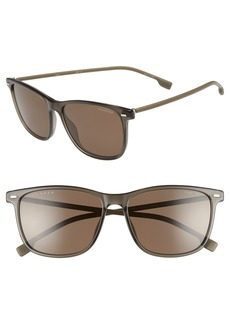 Hugo Boss BOSS 56mm Polarized Sunglasses