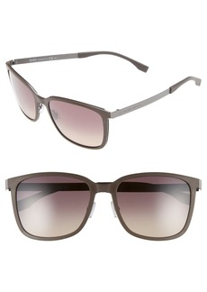 Hugo Boss BOSS 56mm Retro Sunglasses