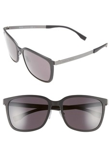 Hugo Boss BOSS 56mm Retro Sunglasses