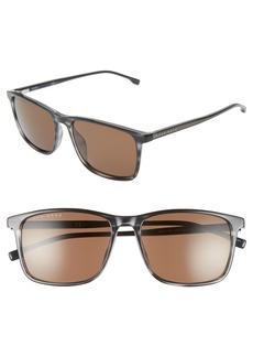 Hugo Boss BOSS 56mm Square Sunglasses