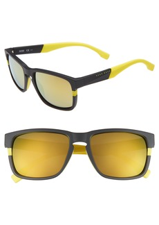 Hugo Boss BOSS 57mm Polarized Sunglasses