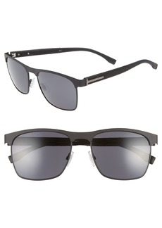 Hugo Boss BOSS 57mm Rectangle Sunglasses