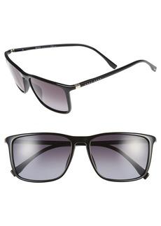 Hugo Boss BOSS 57mm Retro Sunglasses
