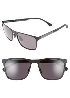 Hugo Boss BOSS 57mm Retro Sunglasses