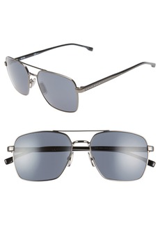 Hugo Boss BOSS 58mm Navigator Sunglasses