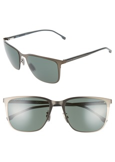 Hugo Boss BOSS 58mm Special Fit Square Sunglasses