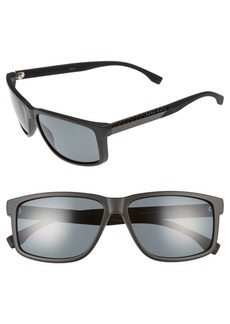 Hugo Boss BOSS 60mm Polarized Sunglasses