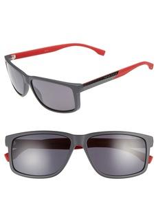 Hugo Boss BOSS 60mm Polarized Sunglasses